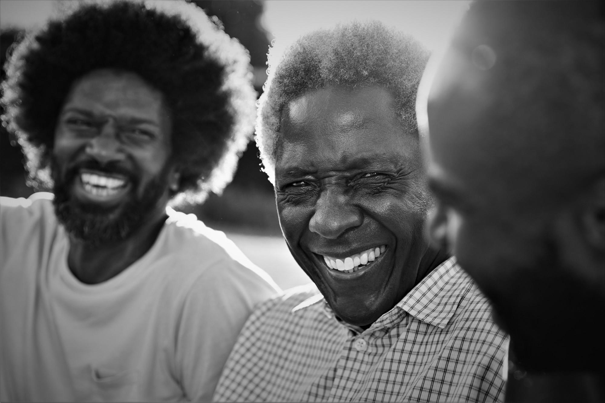 Our History 2 older men joyful